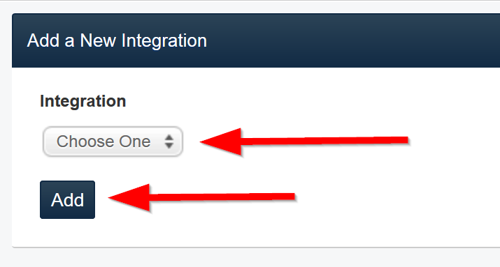 Repository Integration Add Form
